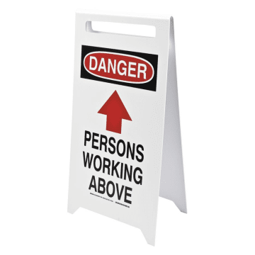 Danger Persons Working Above