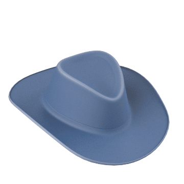 Cowboy Style Hard Hats
