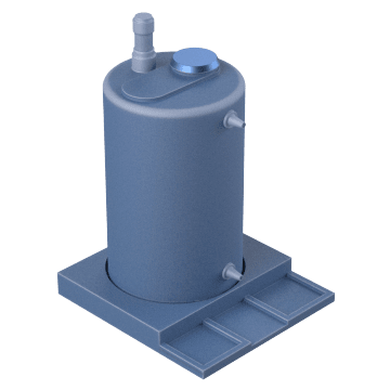 Metering Pump Tanks