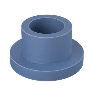 Cylinder with Flange