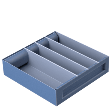 Truck Box Divider Trays