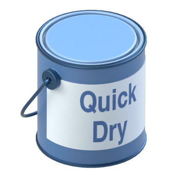 Quick Drying Direct-to-Metal Enamels