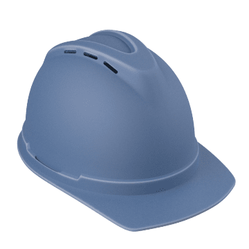 Hard Hats with Ventilated Front Brim