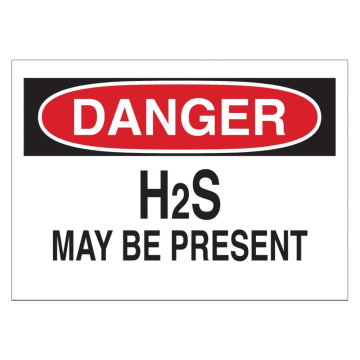 Danger H2S May Be Present