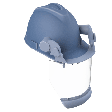 Arc Flash Face Shield & Hard Hat Combinations