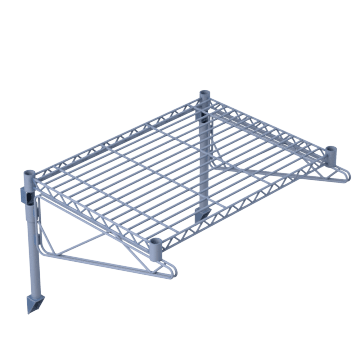 Open Wire Shelving Kits