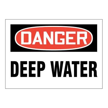 Danger Deep Water