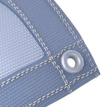 Mesh Tarps: Windblocking