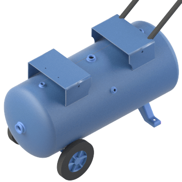 Tanks For Gas Engine Compressors