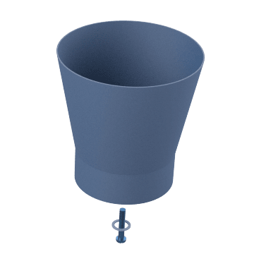 Funnel Drain Assemblies
