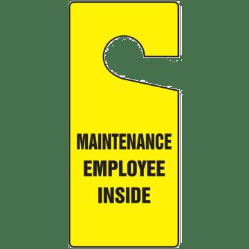 Maintenance Employee Inside