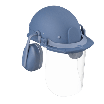 Face Shield & Hard Hat Combinations