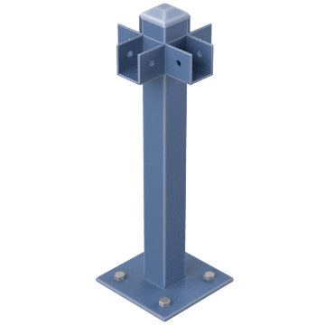 Beam Guardrail Mounting Posts