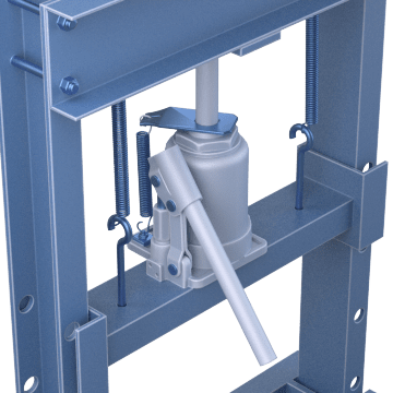 With Bottle Jack Hand Pump