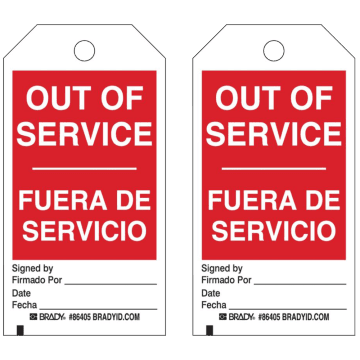 Bilingual Out of Service