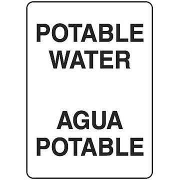 Bilingual Potable Water