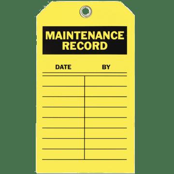 Maintenance Record