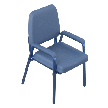 Space-Saving Stacking Chairs