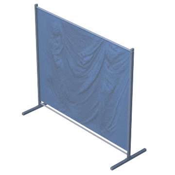 Quick-Snap Modular Screens