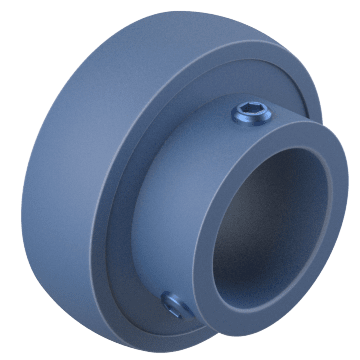 Spherical with Set-Screw Mount