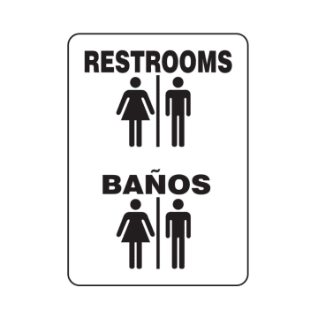 Bilingual Restrooms
