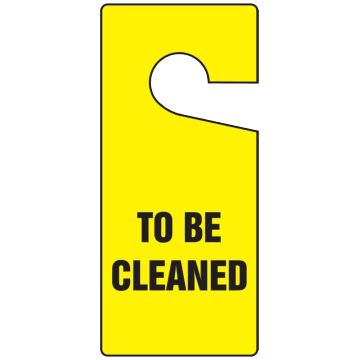 To be Cleaned