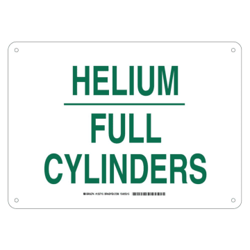 Helium Full Cylinders