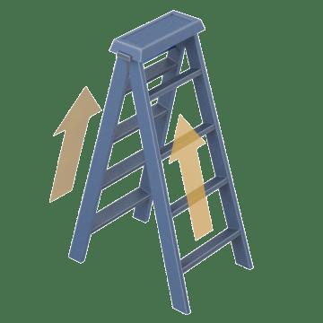 Dual Access Step Stools