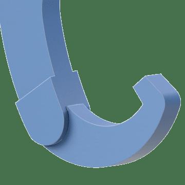 Hinged Adjustable Hook, for Side