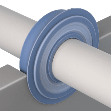 With Retaining Ring Groove