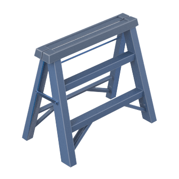 Extra Wide Step Stools
