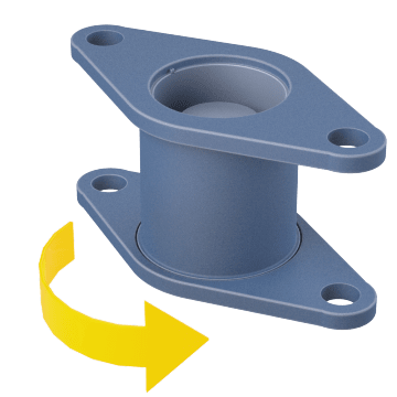 Rotating Flanged Check Valves