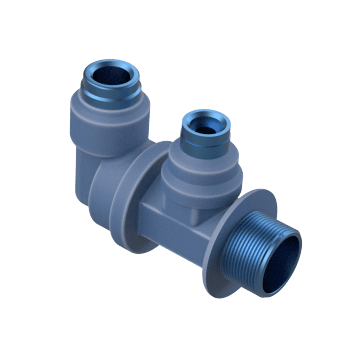 Dual-Port Elbows
