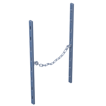 Magnetic-Mount Barrier Chains