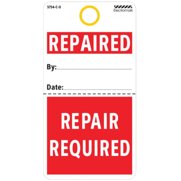 Repaired/Repair Required