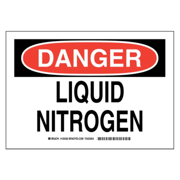 Danger Liquid Nitrogen