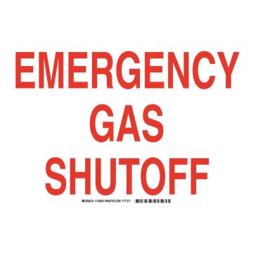 Emergency Gas Shutoff