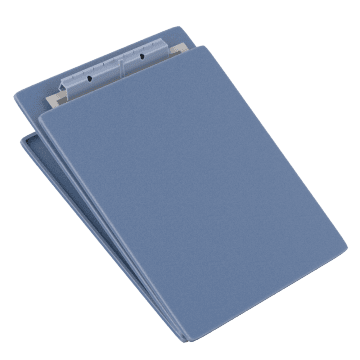 With Hinged Writing Surface for Forms