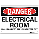 Danger Electrical Room Unauthorized Personnel Keep Out