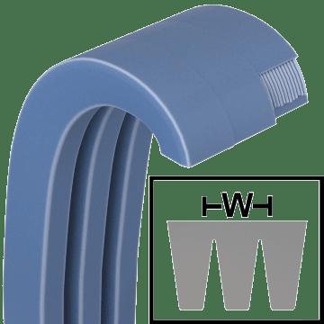 High-Torque Narrow Banded V-Belts (3V, 5V, & 8V Sections)