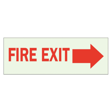 Fire Exit (Right Arrow)