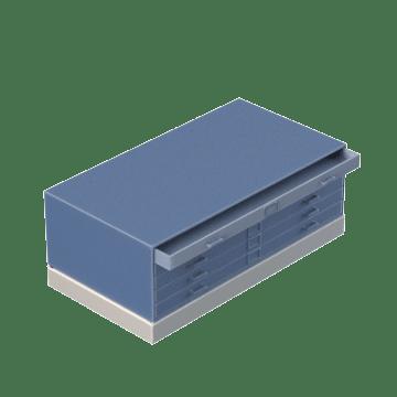 Flat Horizontal Files