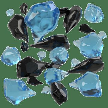 Coal Slag & Ground Glass