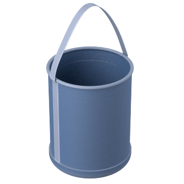 Load-Rated Cylindrical Buckets
