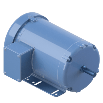 Totally Enclosed Fan Cooled (TEFC)