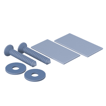 Screws, Washers & Adhesive Pads