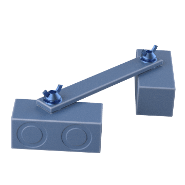 Magnetic Link Clamps for Steel Plates