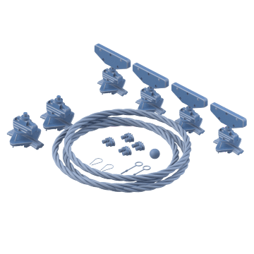 Wire Rope Festoon System Kits