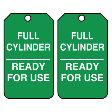 Full Cylinder Ready for Use