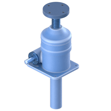 High-Efficiency Upright Ball Screw Jacks